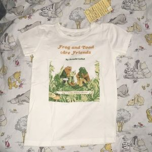 NWT Kids' Frog and Toad are Friends T-Shirt